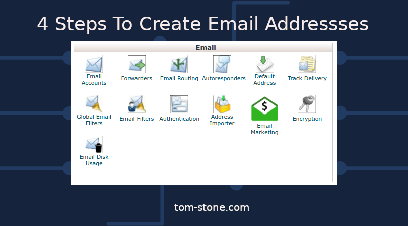 4 Steps To Create Email Addresses